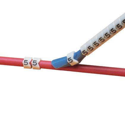 Cable Marker – Clip-on Wire Marker – Numerals 0-9 | MilSted Data ...